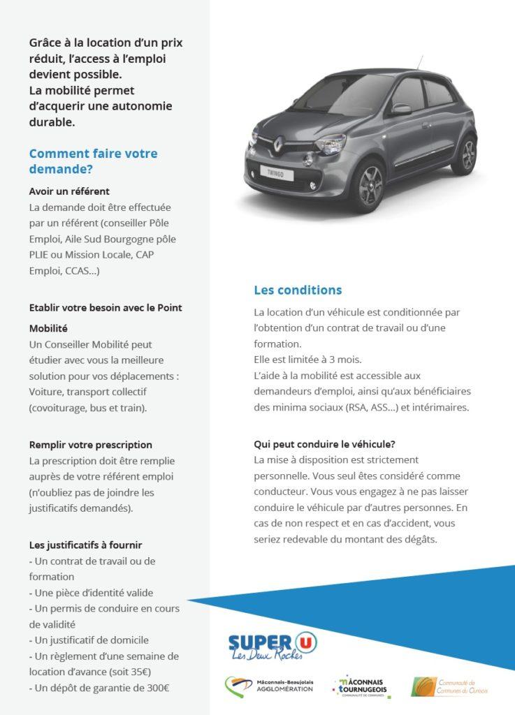 Aides A La Mobilite Maconnais Tournugeois Communaute De